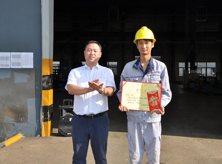 改装车系统滁州公司举办焊工技能大比武
