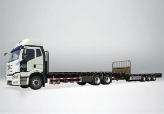 解放6X4中置轴20m普货运输车
