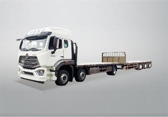 重汽6X2中置轴20m普货运输车