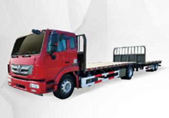重汽4X2中置轴20m普货运输车